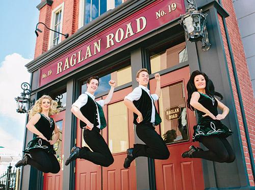 Raglan Road Irish Pub at Downtown Disney