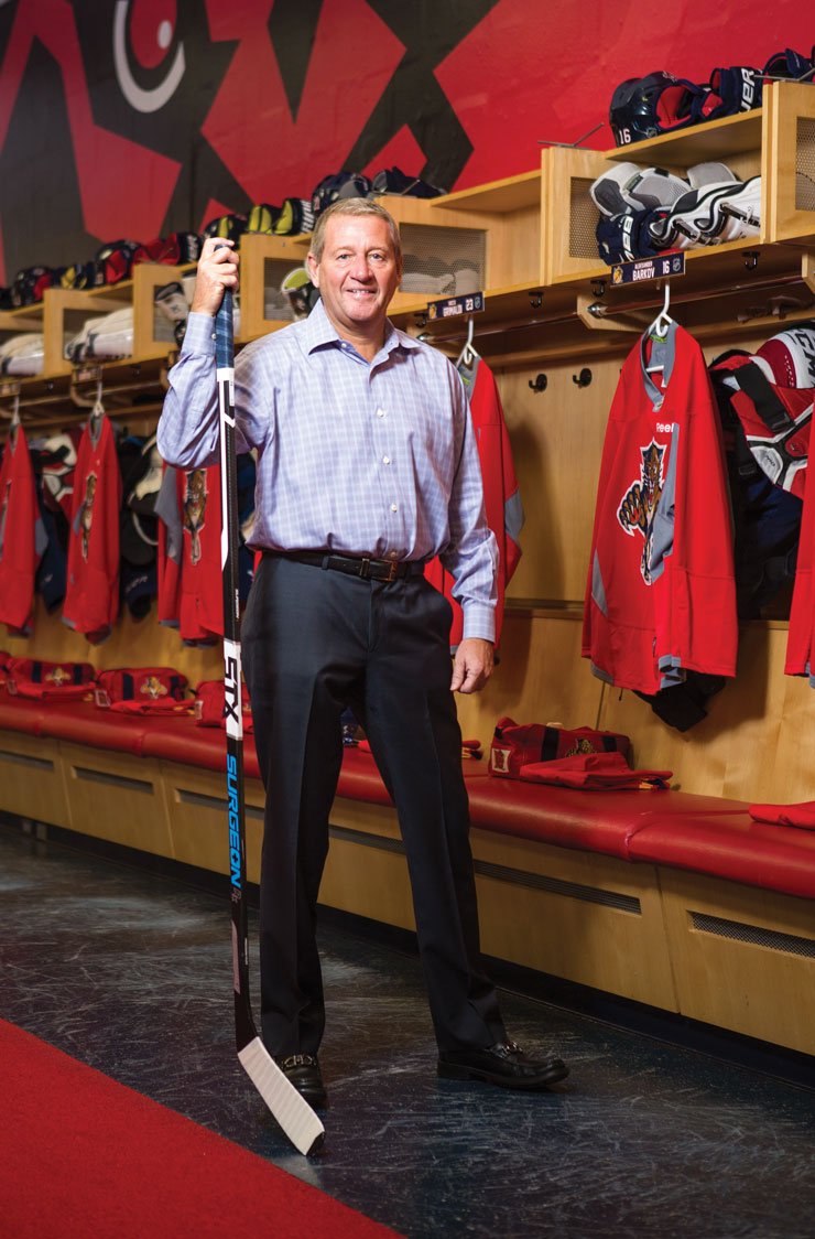 How Florida Panthers' Peter Luukko Is Rebranding The Team And Turning South Florida Into A Hockey Town