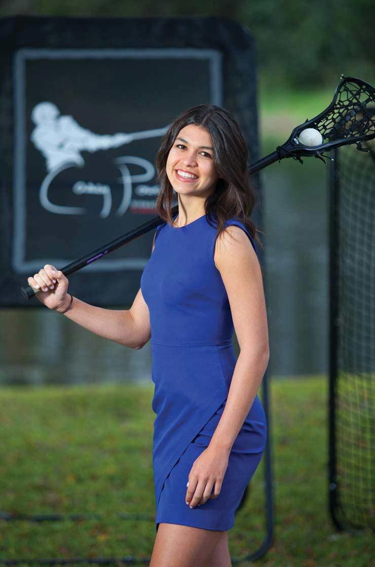 The Boca Teen Behind Gladiator Lacrosse Is Getting Her Shot On 'Shark Tank'