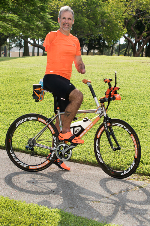 When Triathlete And Amputee Hector Picard Competes In The Ironman World Championship This Fall, He'll Be Racing For Broward Children's Center