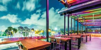 Bar RIta offers rooftop dining