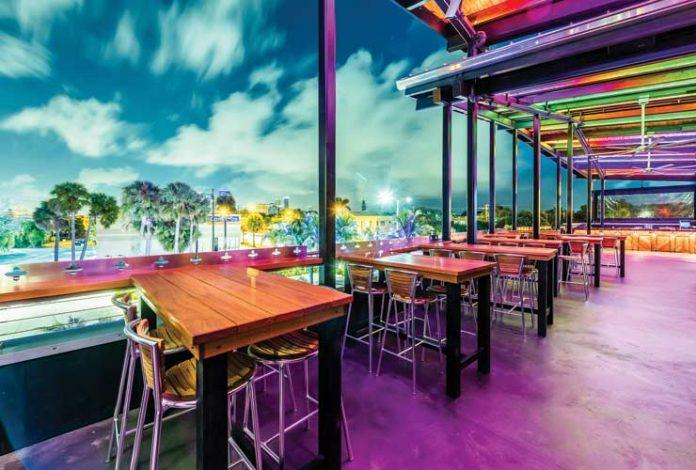Bar RIta offers rooftop dining